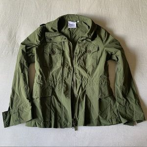 Aspesi Lightweight Green Utility Jacket